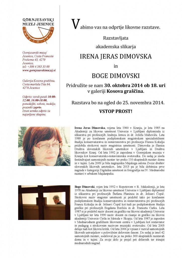 Irena Jeras Dimovska in Boge Dimovski
