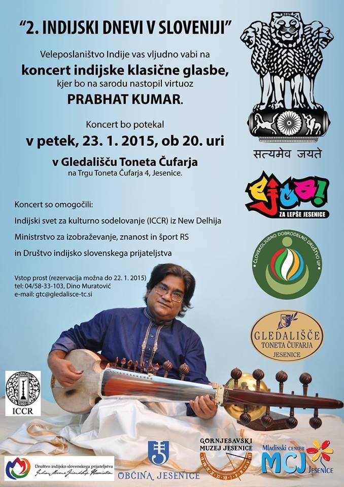 Koncert indijske instrumentalne glasbe
