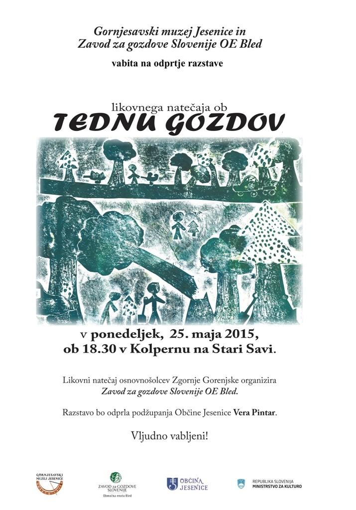 Vabilo_Teden Gozdov_25.5.2015 - print