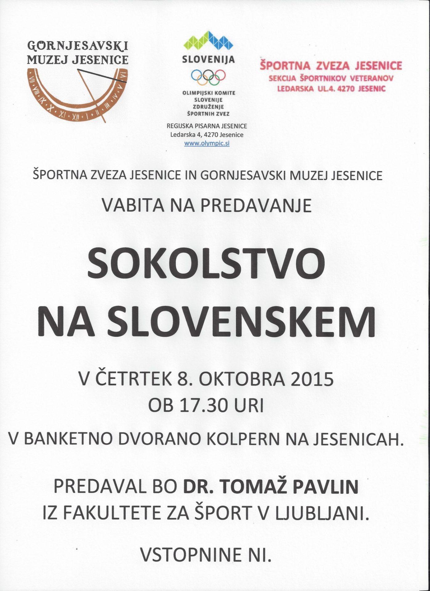 Sokolstvo na Slovenskem (1)
