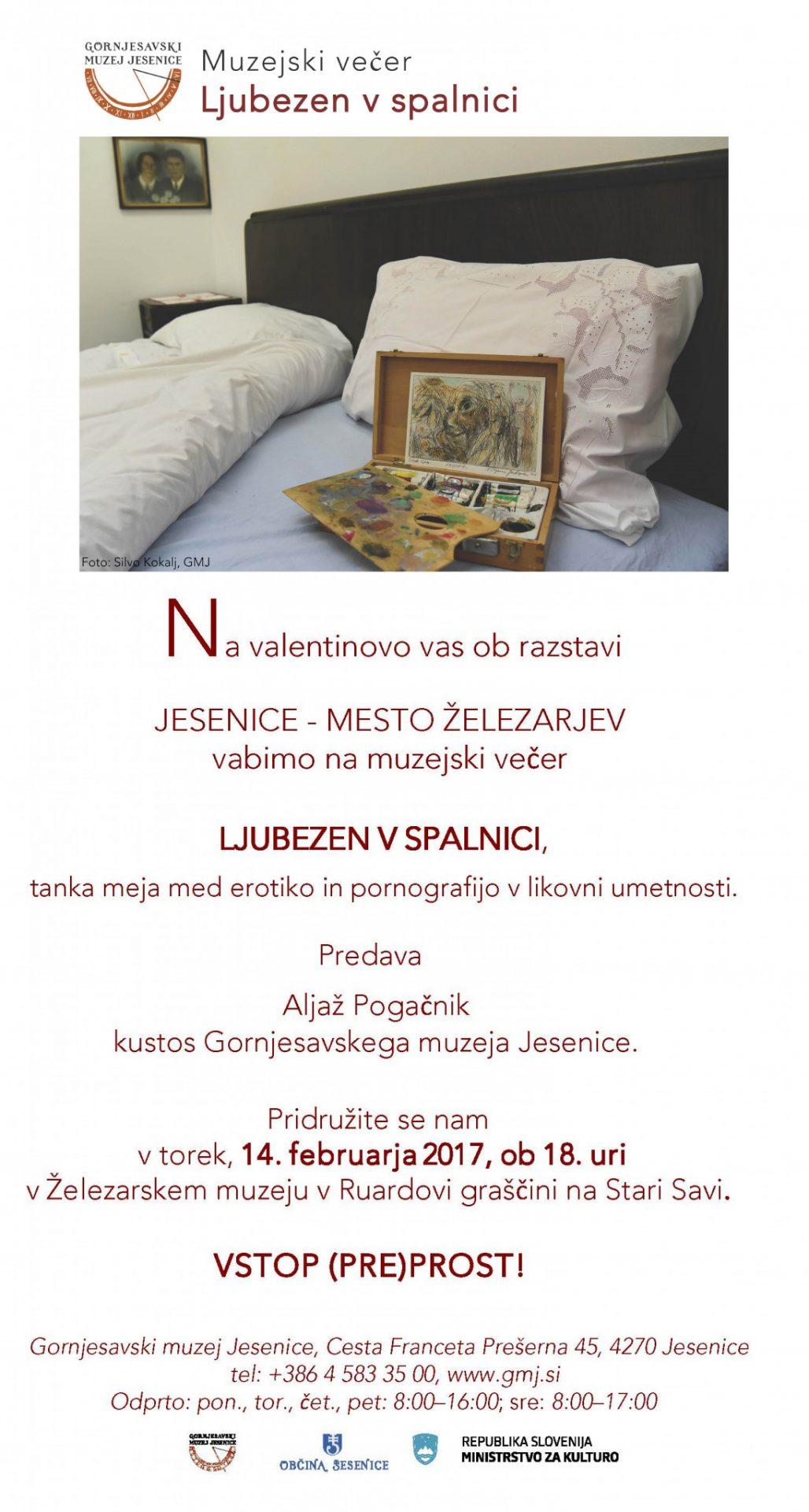Ljubezen v spalnici, e- Vabilo